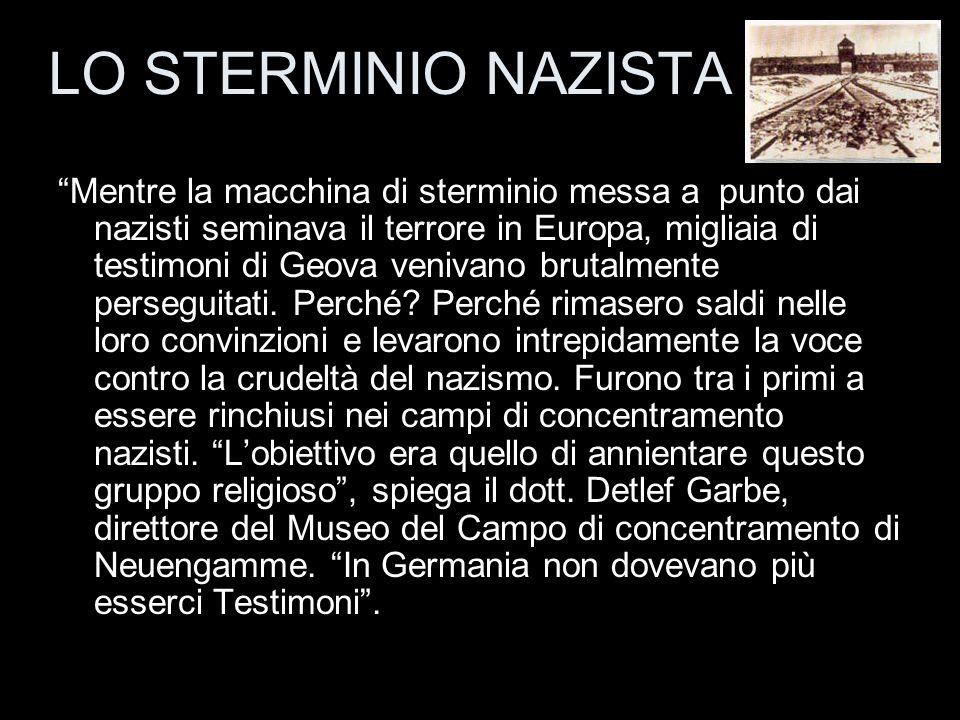 LO STERMINIO NAZISTA