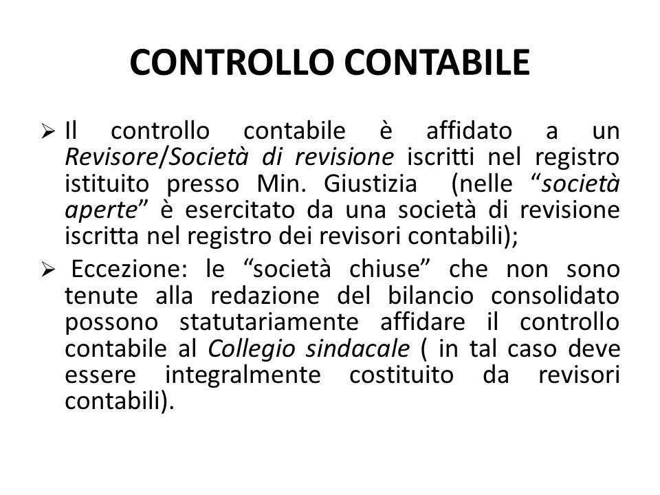 CONTROLLO CONTABILE