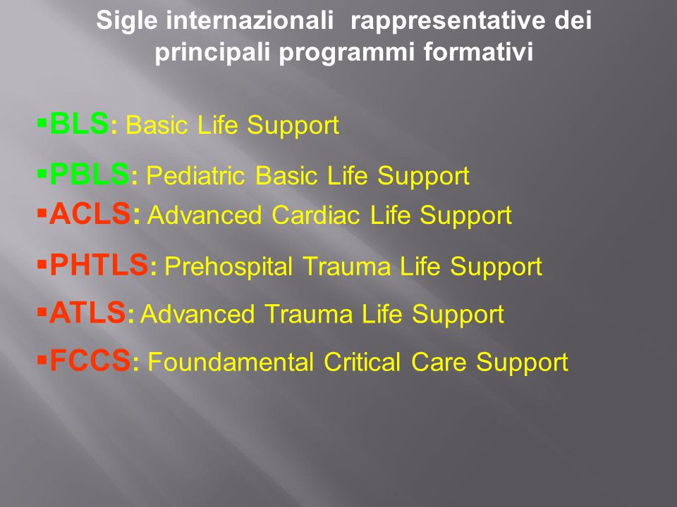 BLS: Basic Life Support