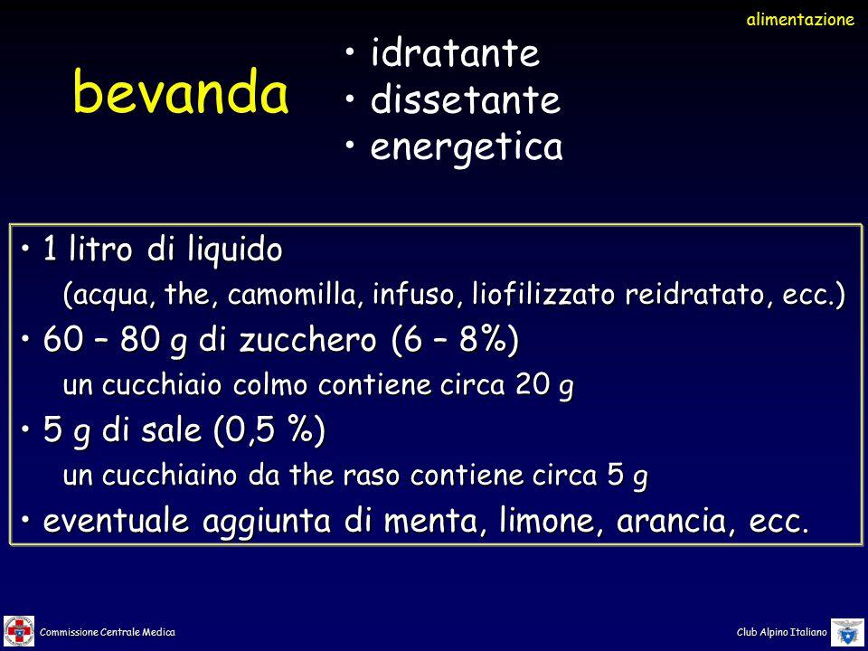 bevanda idratante dissetante energetica 1 litro di liquido