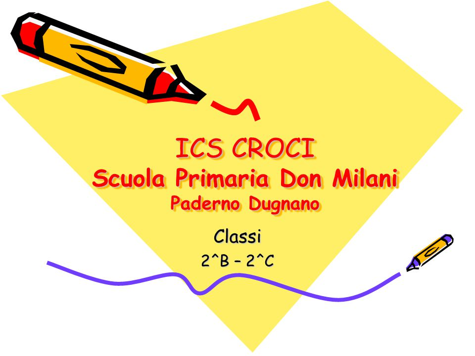 ICS CROCI Scuola Primaria Don Milani Paderno Dugnano