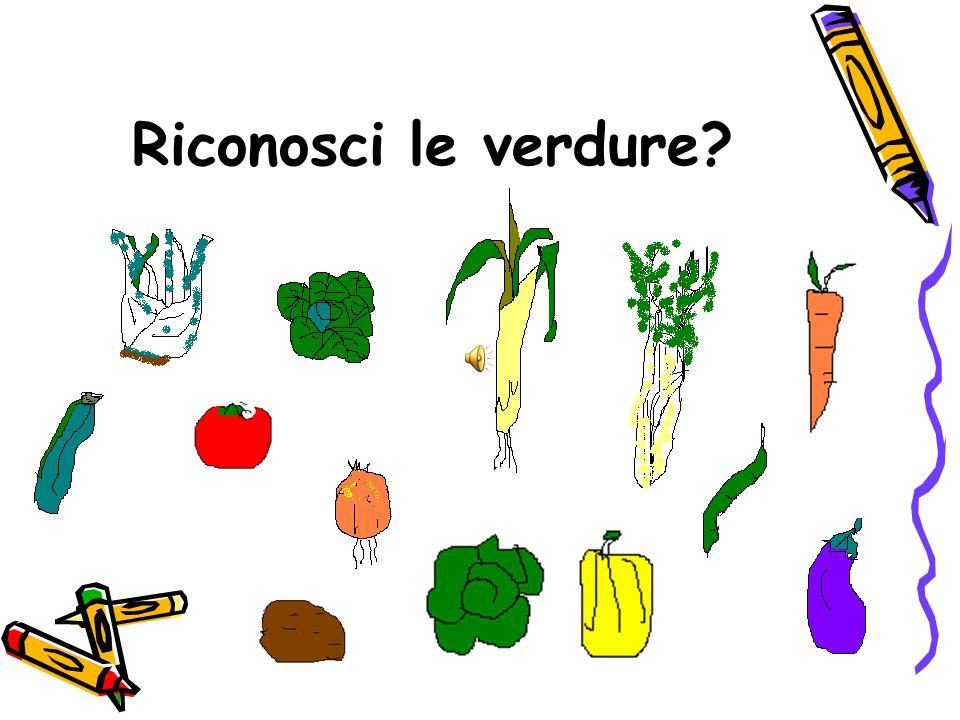Riconosci le verdure