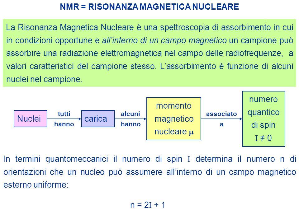 momento magnetico nucleare m