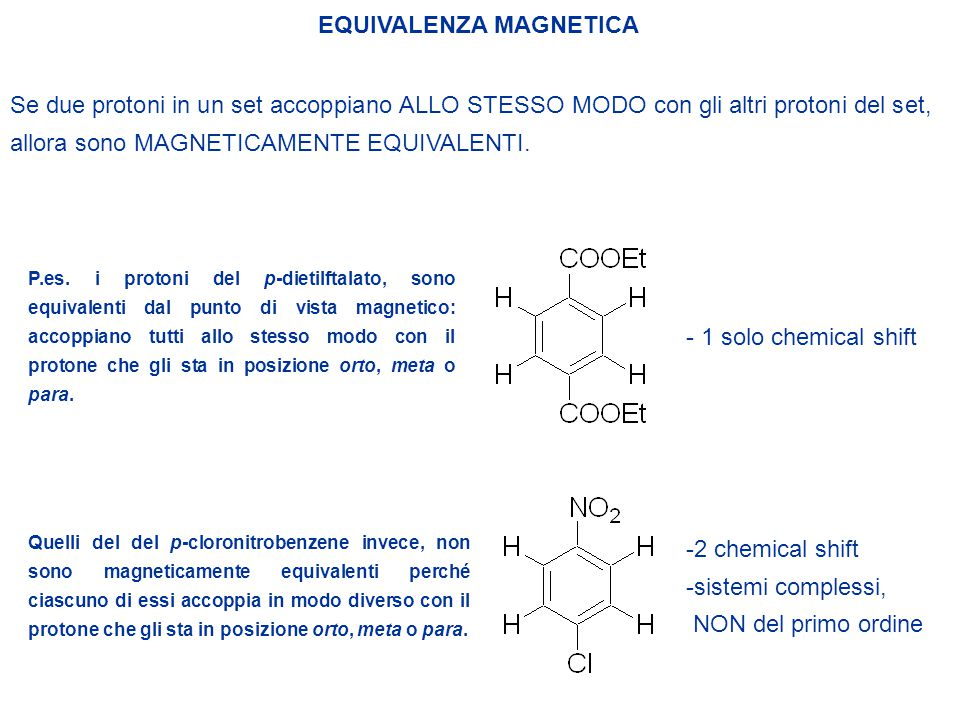 EQUIVALENZA MAGNETICA