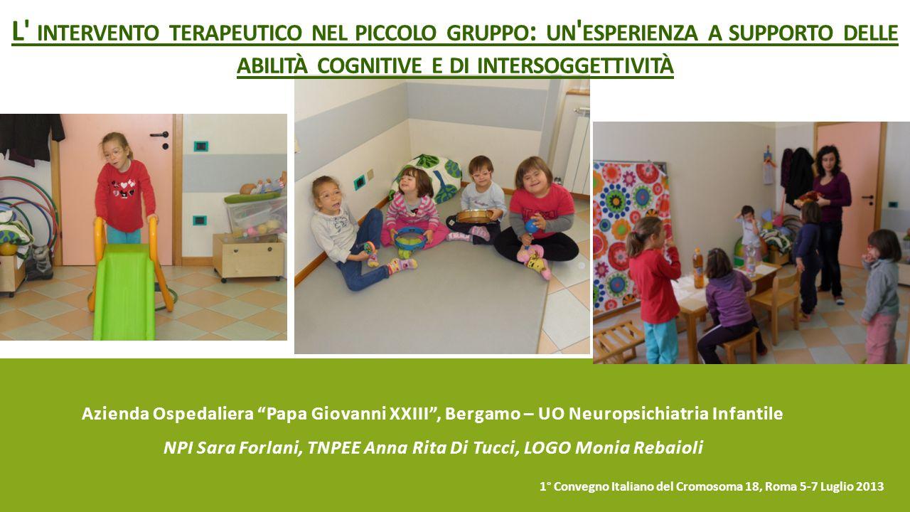 NPI Sara Forlani, TNPEE Anna Rita Di Tucci, LOGO Monia Rebaioli