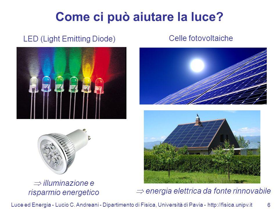 Come ci può aiutare la luce