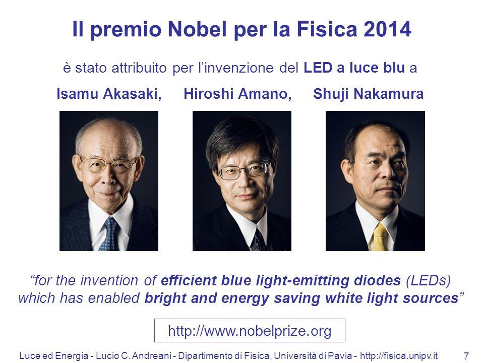 Il premio Nobel per la Fisica 2014