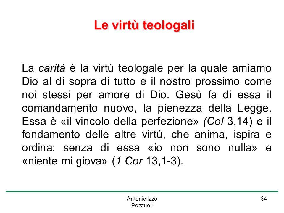 Le virtù teologali