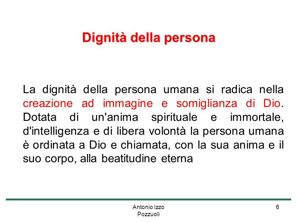 Dignità della persona