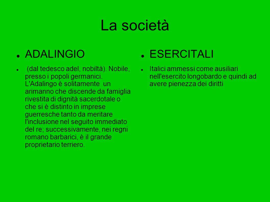 La società ADALINGIO ESERCITALI