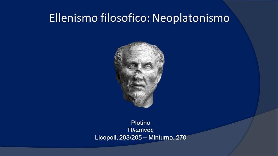 Ellenismo filosofico: Neoplatonismo