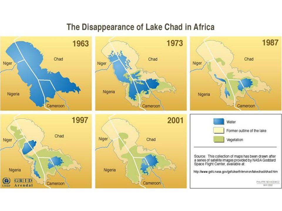 Il problema del Lago Ciad