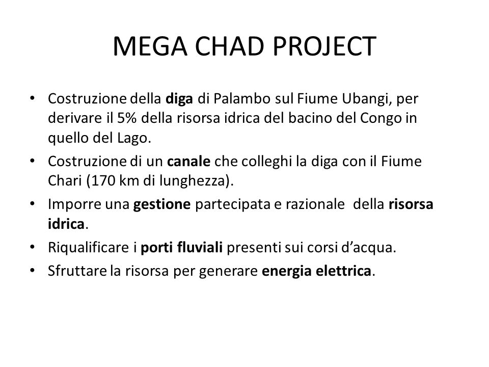 MEGA CHAD PROJECT