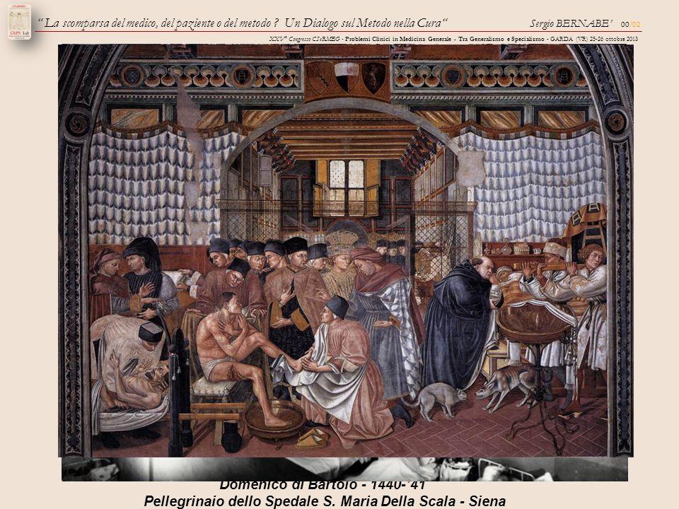 Il governo e la cura degli infermi Domenico di Bartolo - 1440-'41