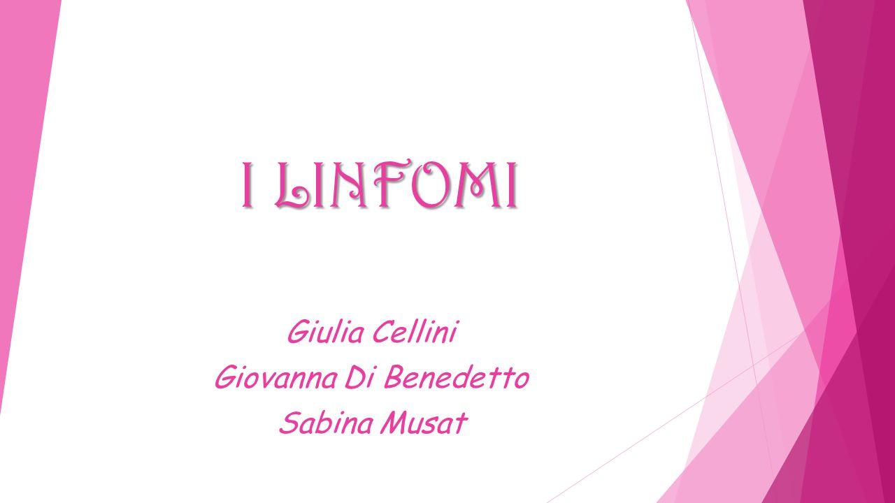 Giulia Cellini Giovanna Di Benedetto Sabina Musat