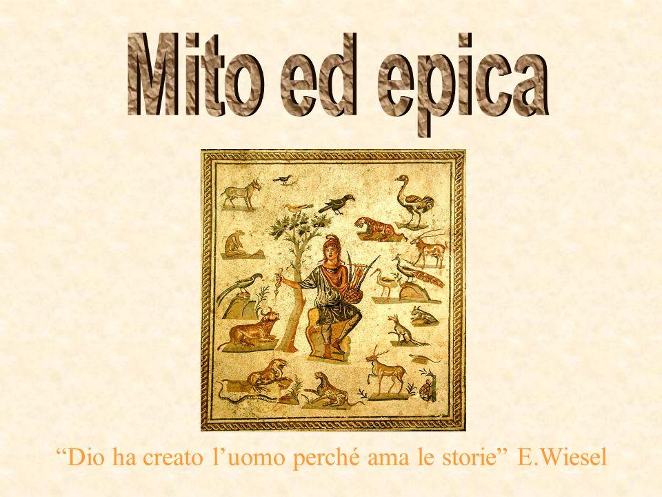 Dio ha creato l'uomo perché ama le storie E.Wiesel