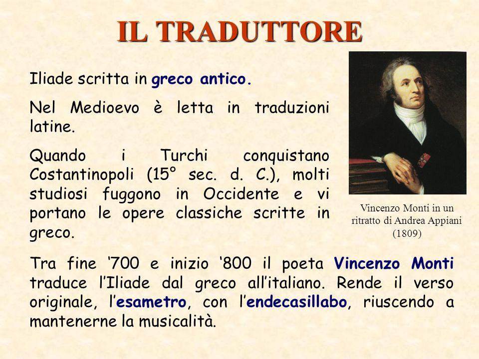Vincenzo Monti in un ritratto di Andrea Appiani (1809)