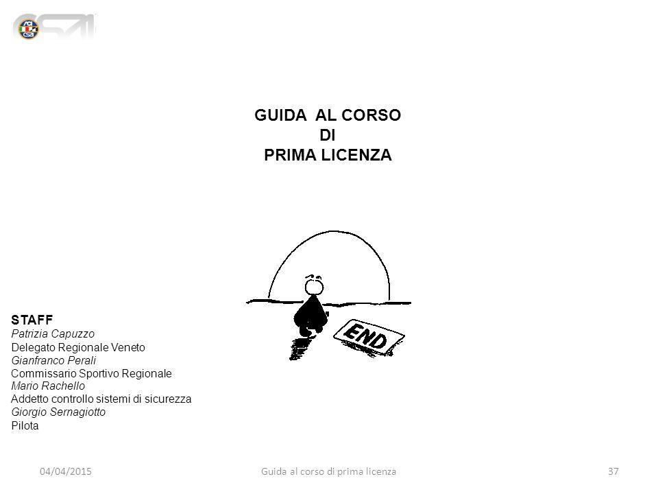 Guida al corso di prima licenza