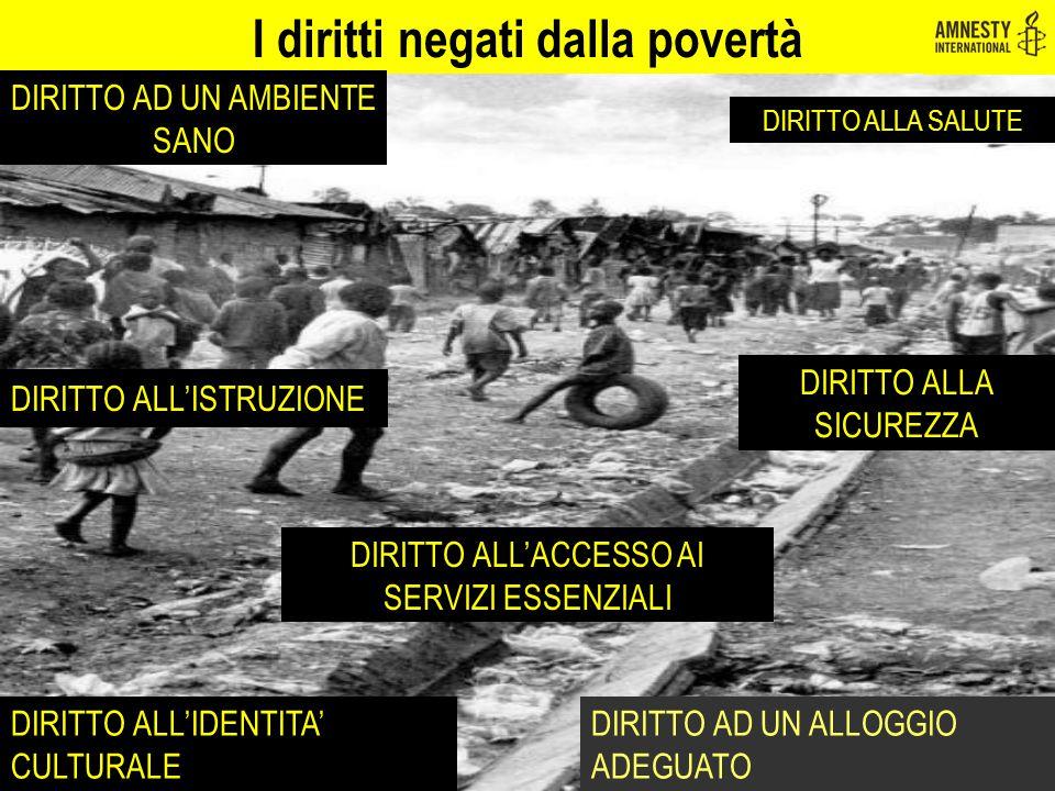 I diritti negati dalla povertà