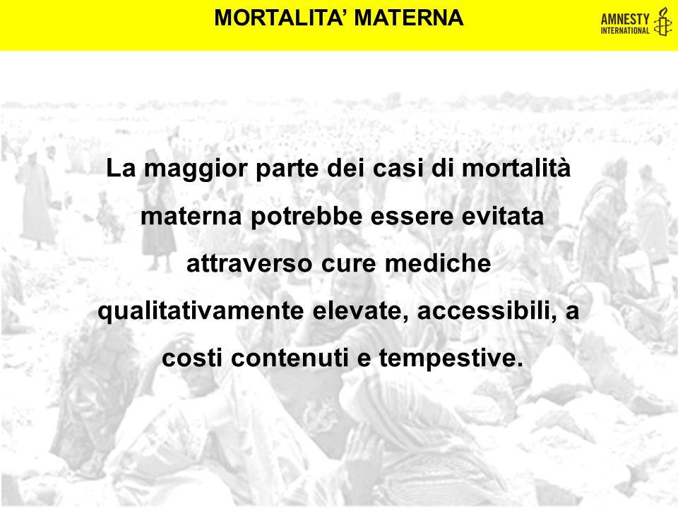 La maggior parte dei casi di mortalità materna potrebbe essere evitata