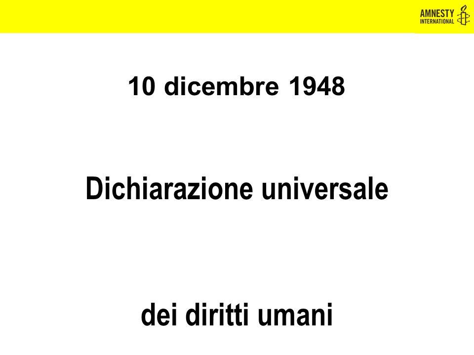 Dichiarazione universale