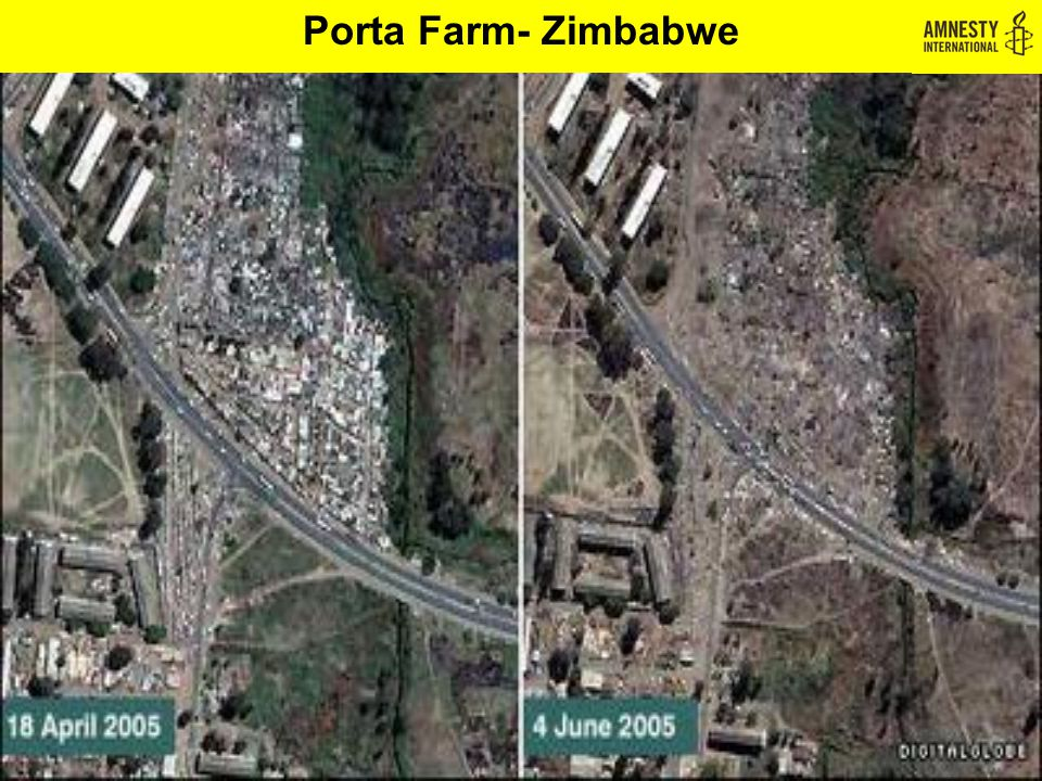 Porta Farm- Zimbabwe