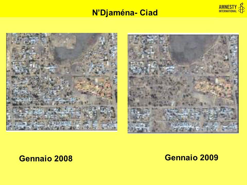 N'Djaména- Ciad Gennaio 2008 Gennaio 2009