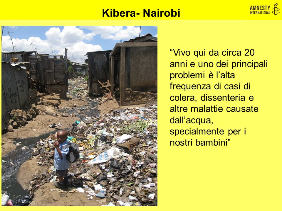 Kibera- Nairobi
