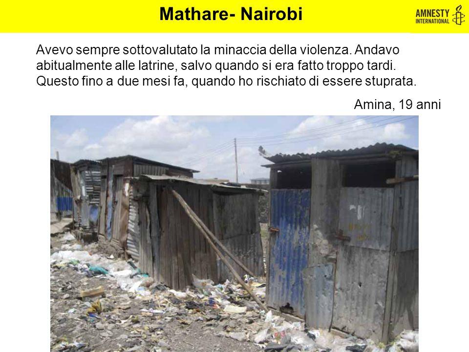 Mathare- Nairobi