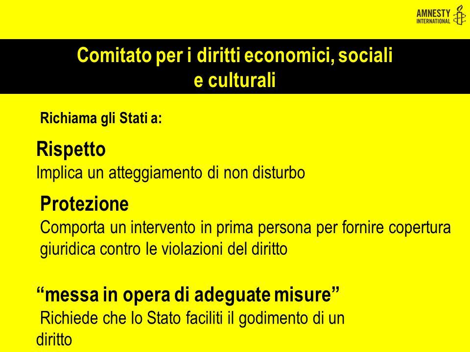Comitato per i diritti economici, sociali