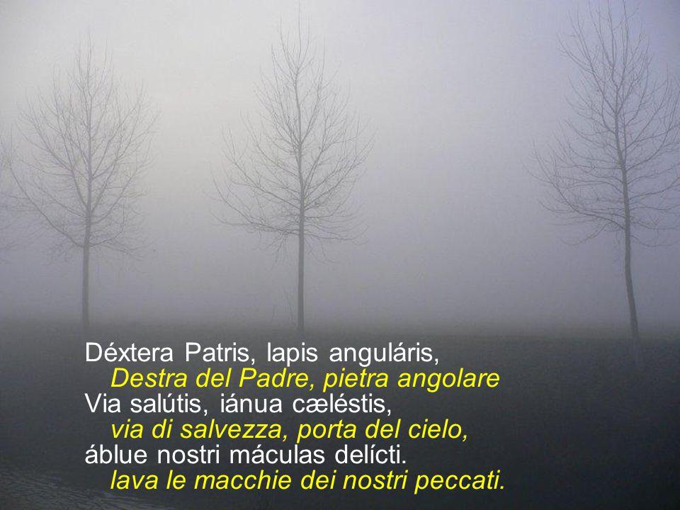 Déxtera Patris, lapis anguláris,
