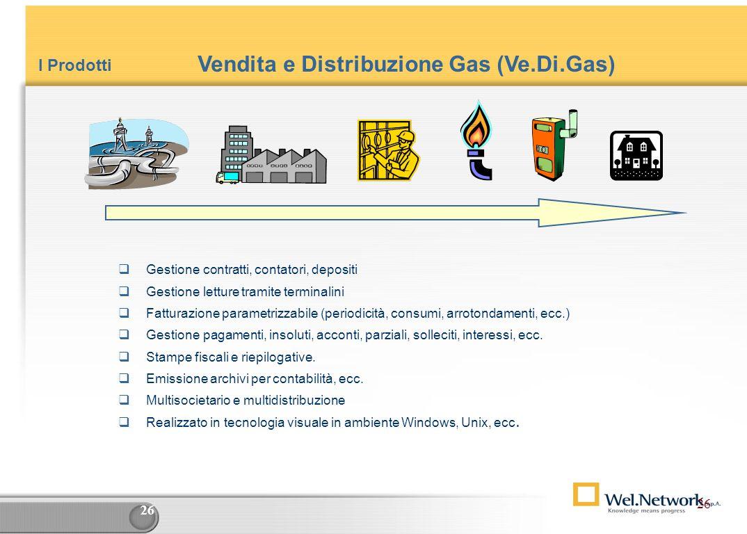 Vendita e Distribuzione Gas (Ve.Di.Gas)