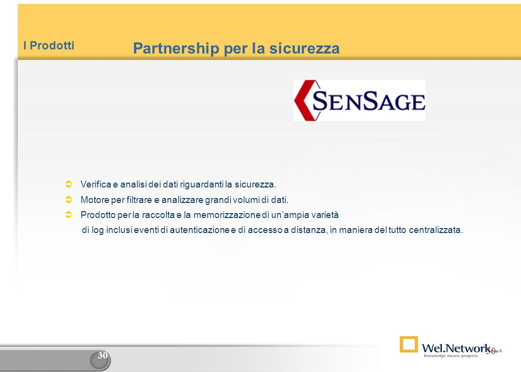 Partnership per la sicurezza