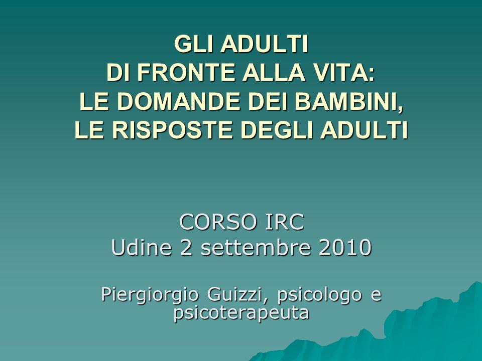 Piergiorgio Guizzi, psicologo e psicoterapeuta