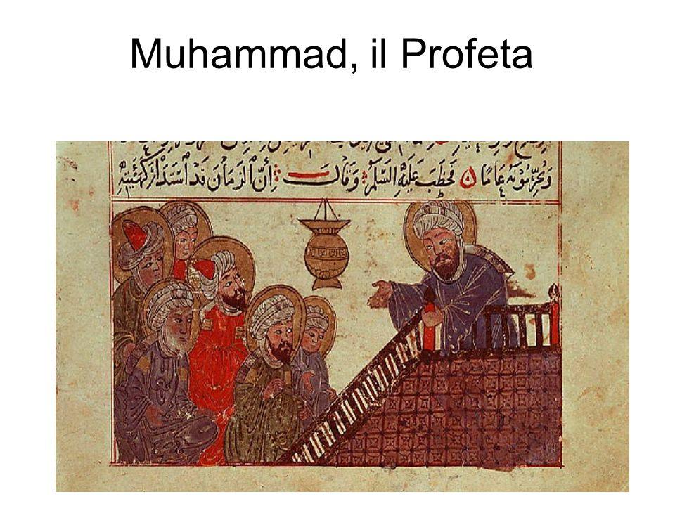 Muhammad, il Profeta Cenno alle rivoluzioni del mondo arabo.