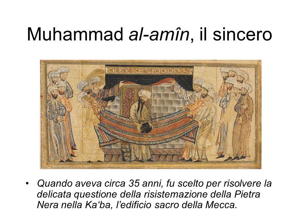 Muhammad al-amîn, il sincero