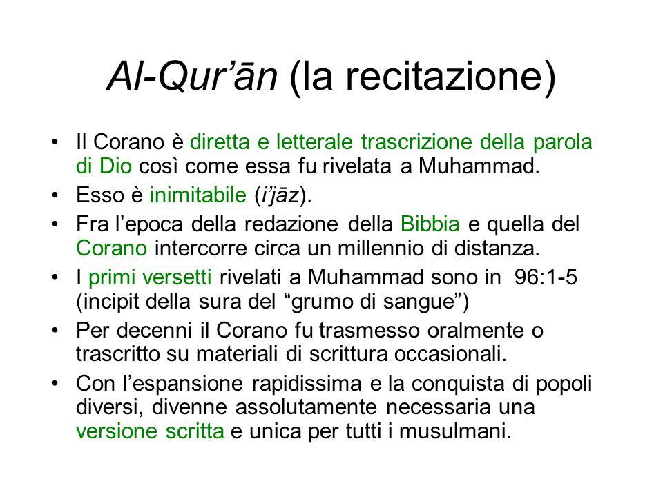 Al-Qur'ān (la recitazione)