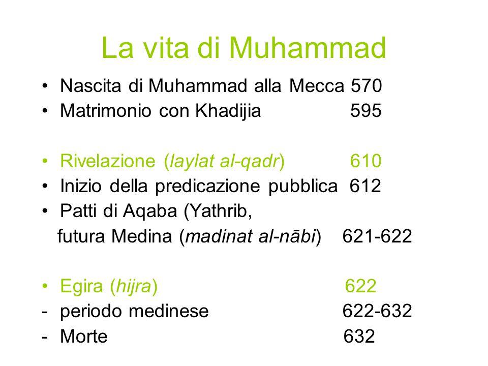 La vita di Muhammad Nascita di Muhammad alla Mecca 570