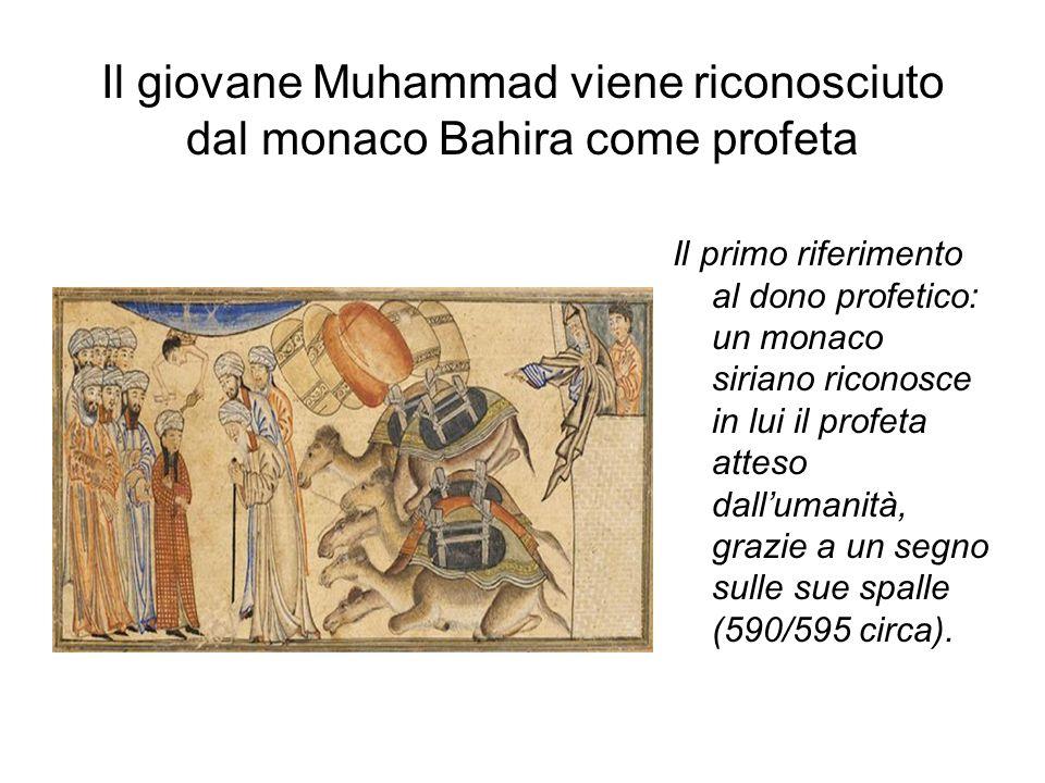Il giovane Muhammad viene riconosciuto dal monaco Bahira come profeta