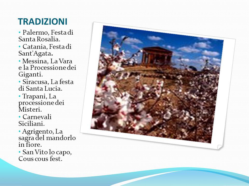 TRADIZIONI Palermo, Festa di Santa Rosalia.