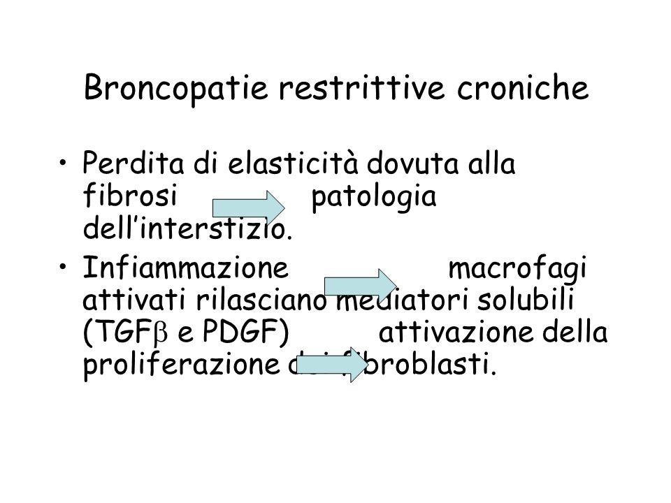 Broncopatie restrittive croniche