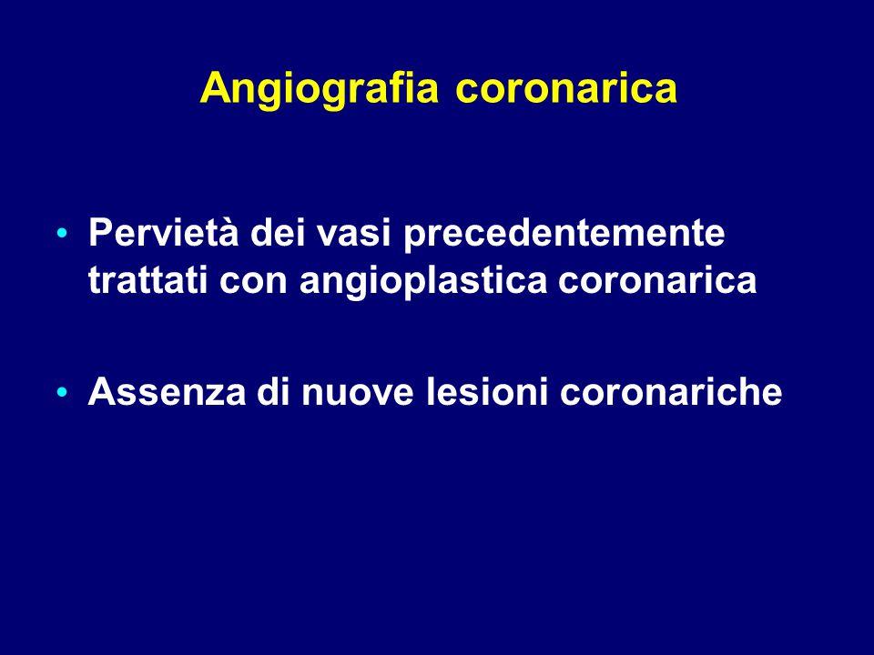 Angiografia coronarica