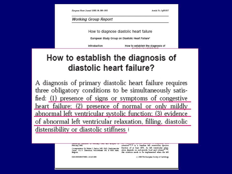 Il primo punto è competenza del clinico, per il II e il III invece l'ecocardiografia può dare un contributo fondamentale