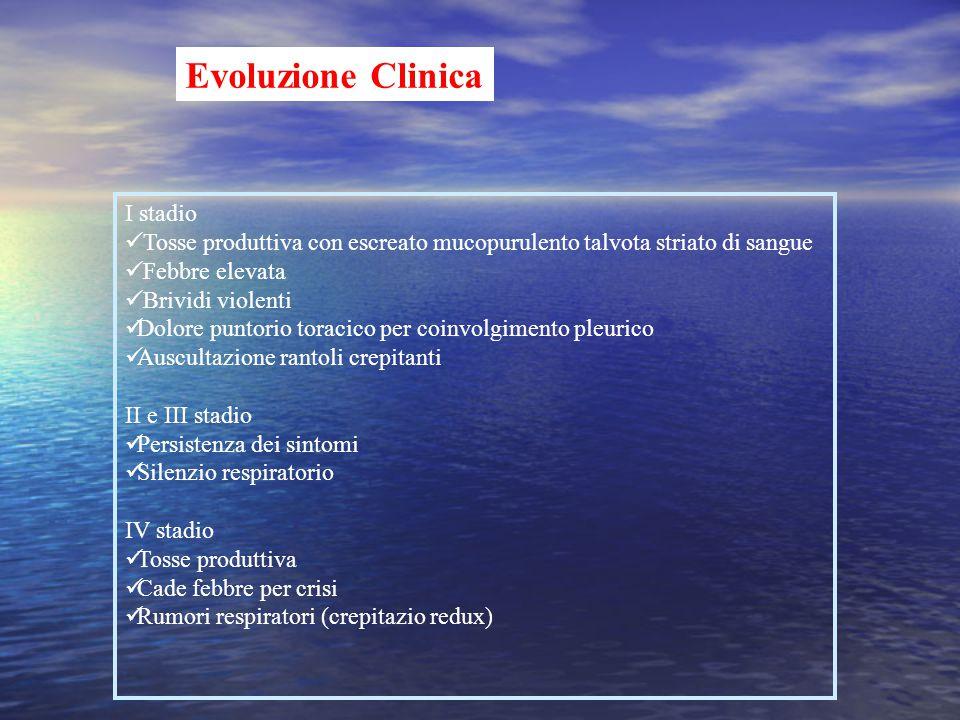 Evoluzione Clinica I stadio