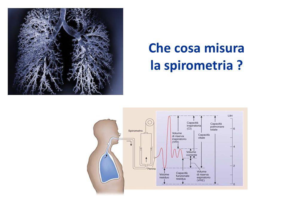 Che cosa misura la spirometria