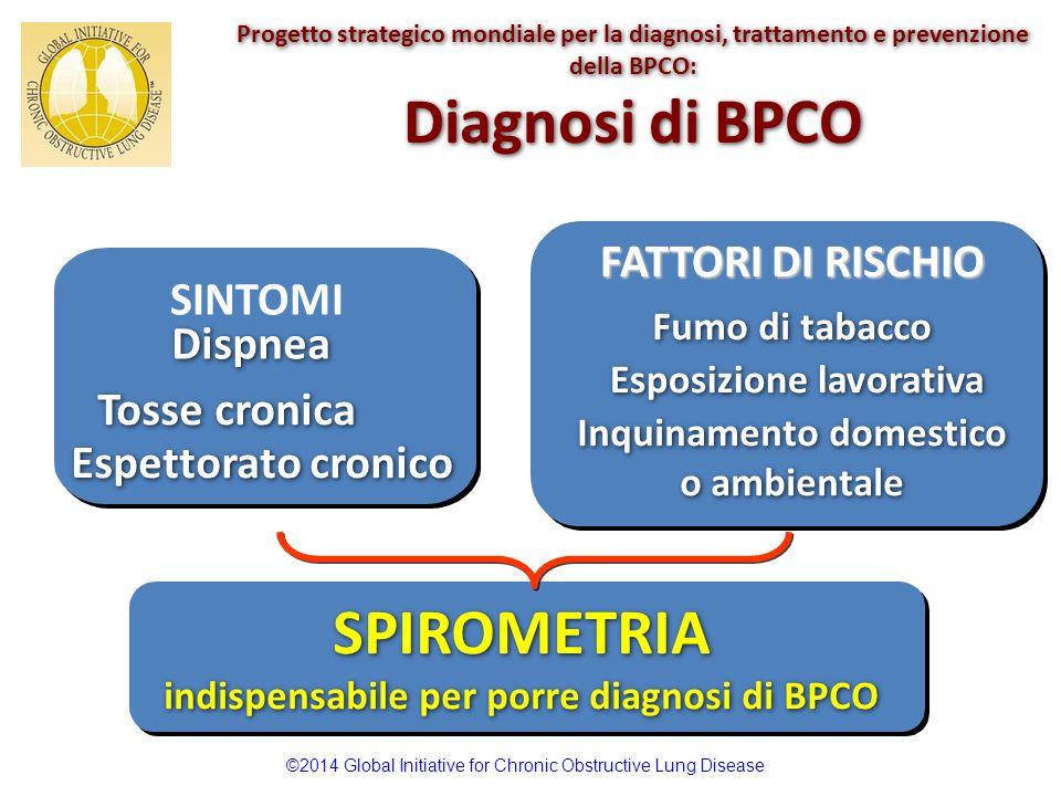 Diagnosi di BPCO SPIROMETRIA