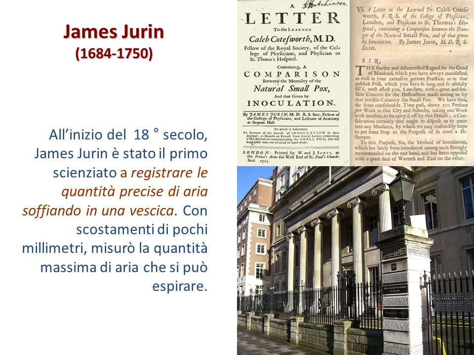 James Jurin (1684-1750)