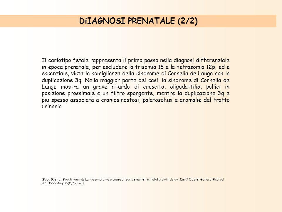 DiIAGNOSI PRENATALE (2/2)
