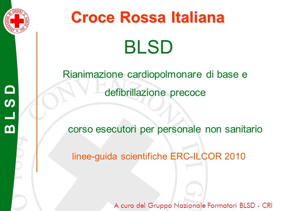 BLSD Croce Rossa Italiana B L S D