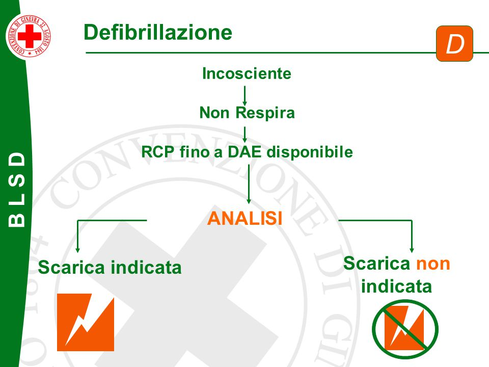 RCP fino a DAE disponibile